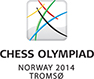 41.Schach-Olympiade Tromso 01.08.-14.08.2014